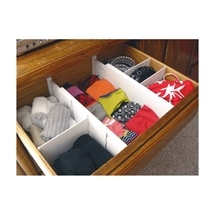 Expandable Drawer Dividers 2 Pack