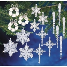 Christmas Ornaments - Crystal Collection
