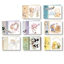 Greeting Cards with Transparent Paper