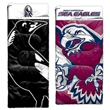 AFL & NRL Kids Sleeping Bags