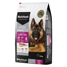 Black Hawk Dog Adult Lamb & Rice 3kg-20kg
