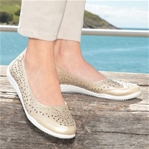 Comfort Cutout Shoes