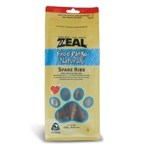 Zeal Free Range Naturals Spare Ribs 125g