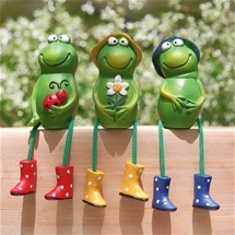 Frog Pot Perchers
