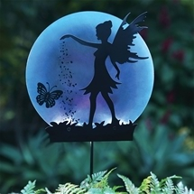 Fairy Silhouette Solar Stake Light
