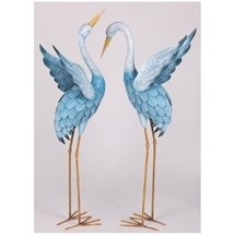 Blue Herons Decoration