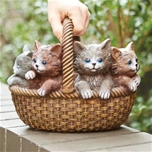 Kitties in Basket