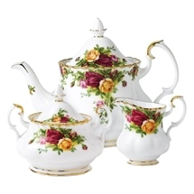 Old Country Rose Bone China Range