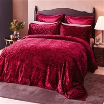 Odette Rouge Quilt Cover Set