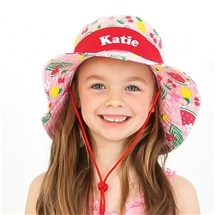 Personalised Wide Brim Sun Hats