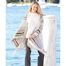 Multi Coloured Waterfall Cardigan