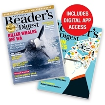 Reader's Digest - 12 Magazine Subscription