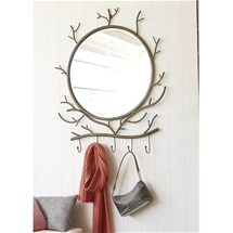 Twig Hook Mirror