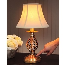 Twist Touch Lamp