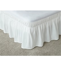 Wraparound Bed Ruffle