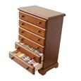 Crafter's 6-Drawer Wooden Thread Cabinet_31980_0