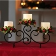 Candelabra with LED candles_MCNDH_0