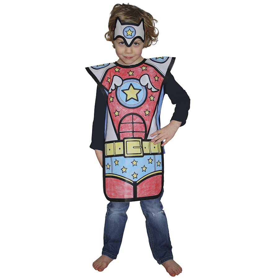 Colour Your Own Costume Police