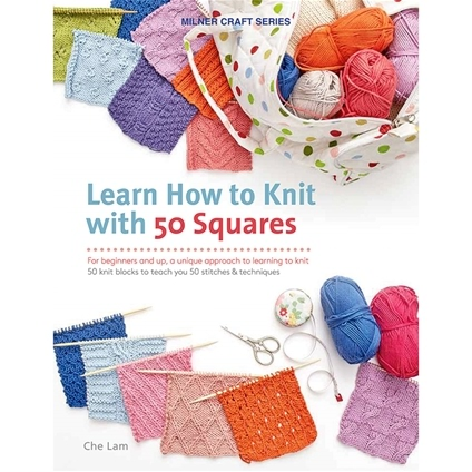 Learn How To Knit : Learn How To Knit with 50 Squares - Innovations