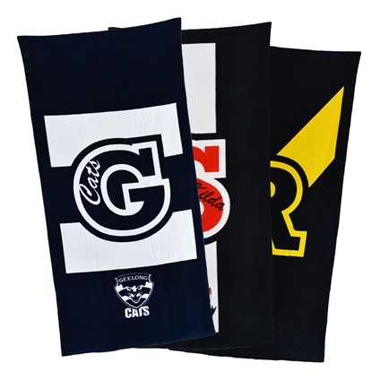 AFL Supporter Beach Towels