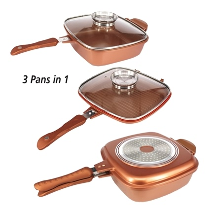 Copper Flip Pan Innovations