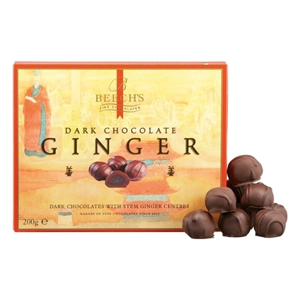 Beechs 200g Dark Chocolate Ginger