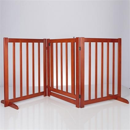 Free Standing Pet Gate With Door Innovations
