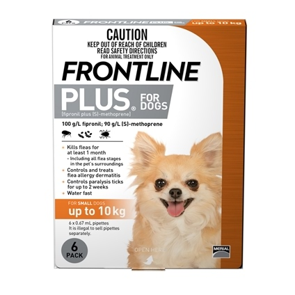 Frontline Plus Dog 6 Pack
