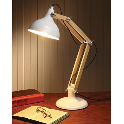 Tabletop Wooden Lamp