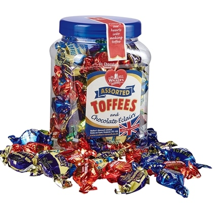 450g Walkers Toffee Assortment