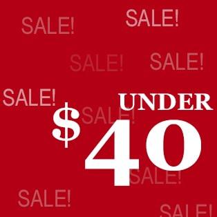 Sale Under 40