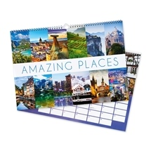 Amazing Places Wall Calendar 2018