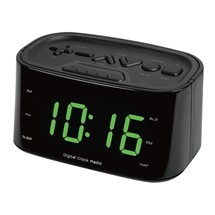 Large Number Clock with USB Port
