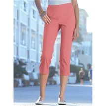 Stretch Cotton Capris