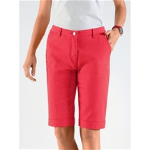 Button Front Bermudas