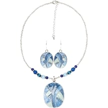 Mosaic Necklace & Earring Set