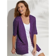 Lacey Knit Cardigan