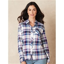 Long Sleeve Flannelette Shirt