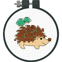 Cross Stitch Hedgehog
