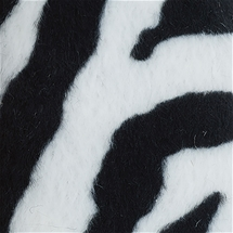 Faux Fur - Zebra