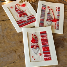 Christmas Gnomes Cards