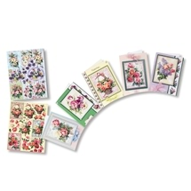 Flowers 3D Greeting Card Kits