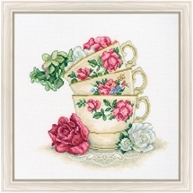Cup of Tea with Roses