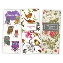 Shopping List Note Pads