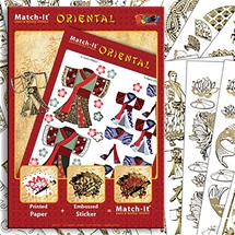 Match-It Oriental Book and Stickers