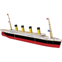 Build A Titanic Book and Model Set
