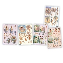 3D Decoupage Kit - Angels
