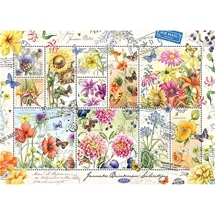 Flower Stamps Summer 1000 pc