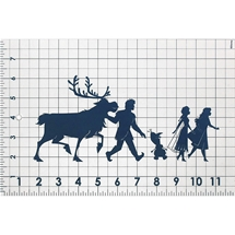 Silhouettes Patchwork Ruler
