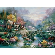 Peaceful Cottage 1000 pc